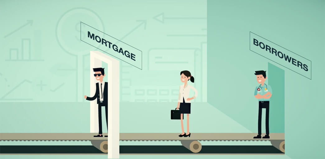 BNTouch Mortgage CRM Cartoon Promo