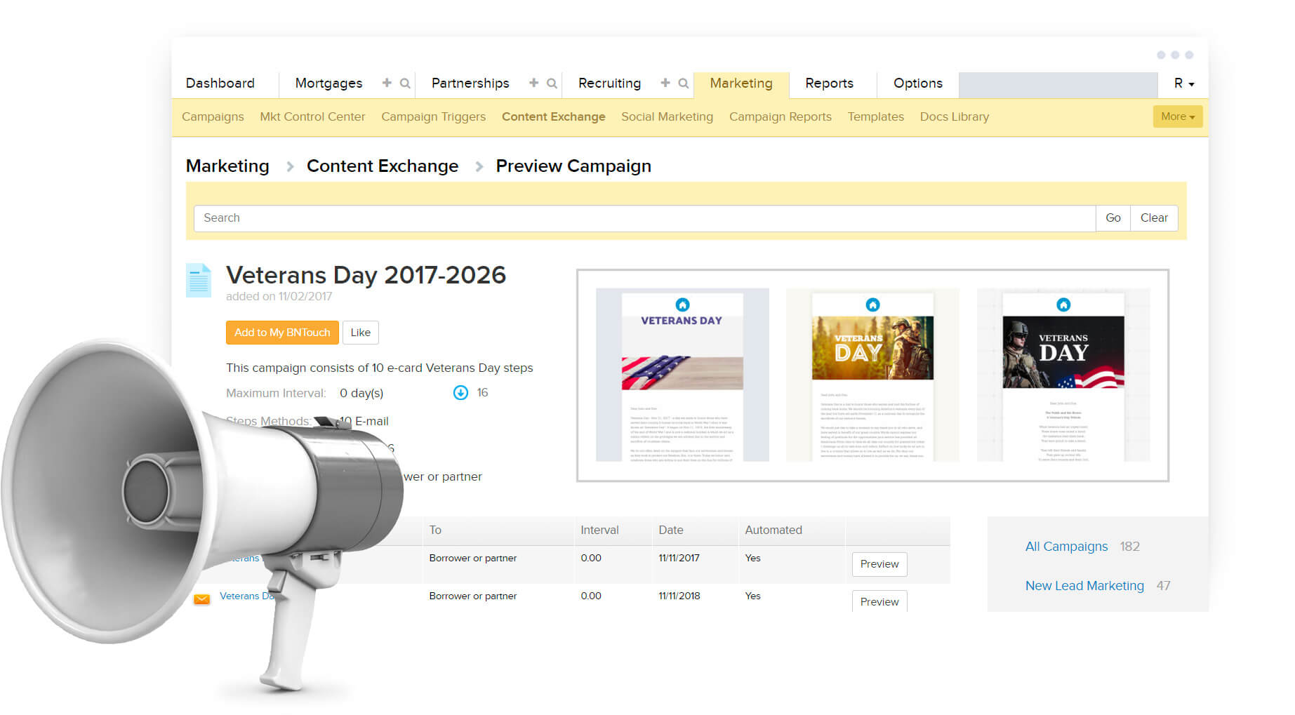 individual mortgage crm content database