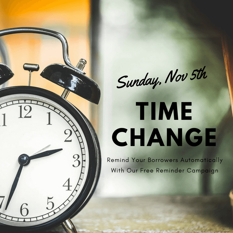 Time Change Automated Email Campaign