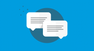 Website Chat Box Banner