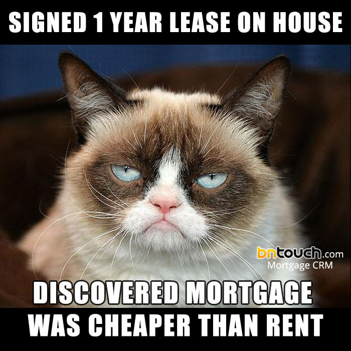 grumpy mortgage meme