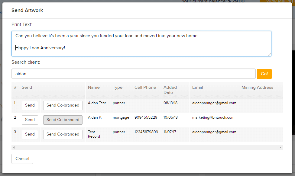 Add Custom Text To Direct Mortgage Mail
