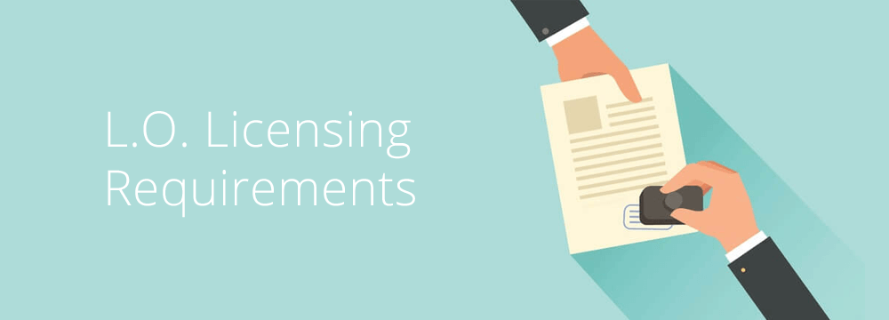loan officer licensing requirements