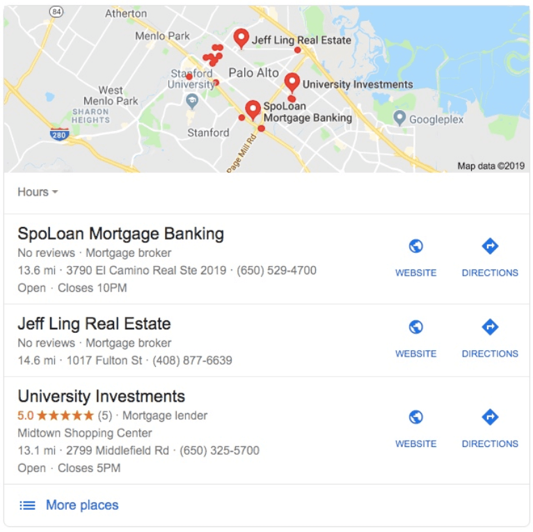 Local SEO 3 Stack For Mortgage