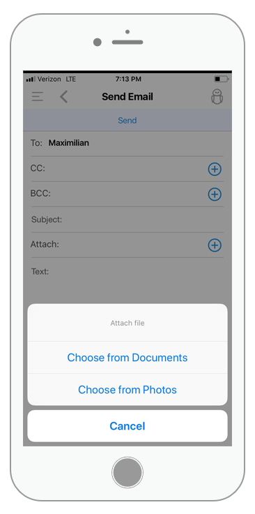 BNTouch doc library mobile app integration