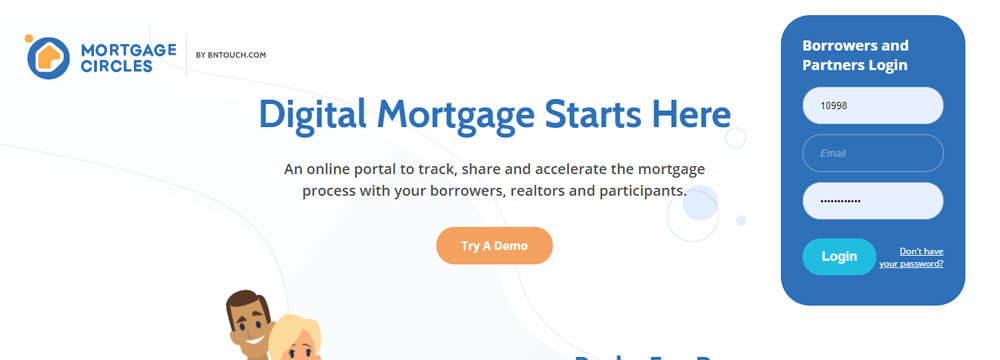 Mortgage Circles Homepage