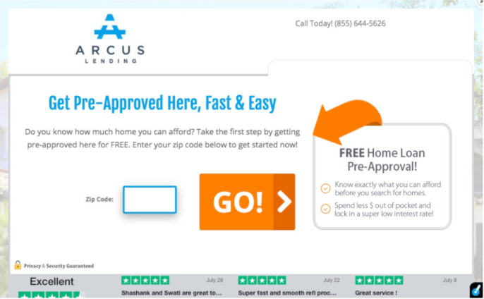 Arcus Preapproval